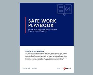 Safe work playbook box